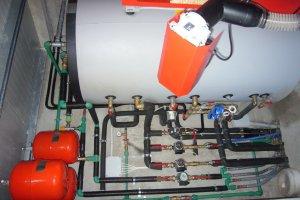 Impianto riscaldamento Biomasse