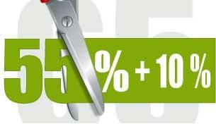 65 per cento